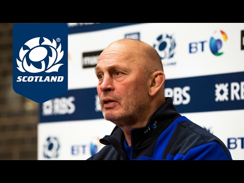 Vern Cotter on his team selection for Ireland