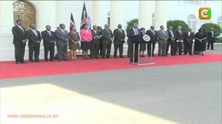 Rais Kenyatta Asema Mradi Wa Reli Utaendelea