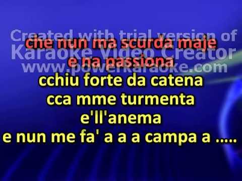 Mario Trevi   Dicitencello Vuje Karaoke