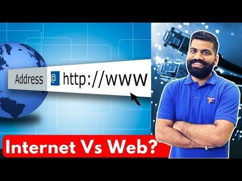 Internet Vs Web? The Basic Difference - WWW Vs Internet?