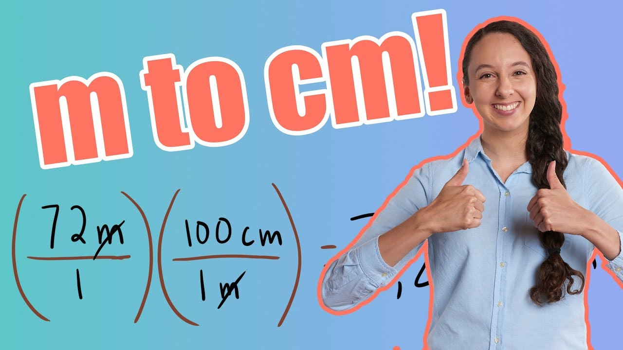 M To Cm How To Convert Meter To Centimeter Youtube