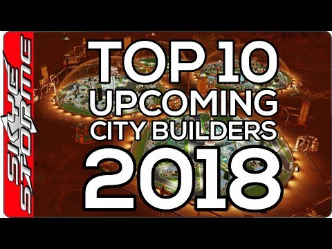Top 10 CITY BUILDING Strategy Games 2018 - Build Ancient Cities, Frostpunk Towns, Surviving on Mars!