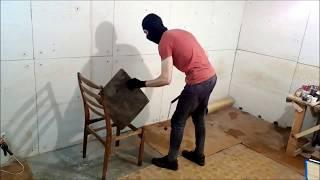 Как сделать кистень своими руками: удары кистенем по стулу