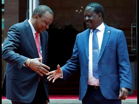 President Uhuru and Raila Odinga tour Kisii County