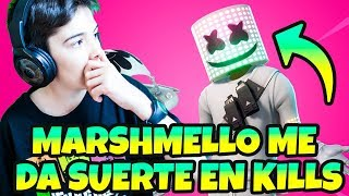 TESTING FORTNITE SKIN *MARSHMELLO AGAINST PEPITO LANZADERO