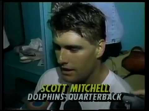 1993 Wk 08 Interviews and Stats After Miami Win vs. Colts