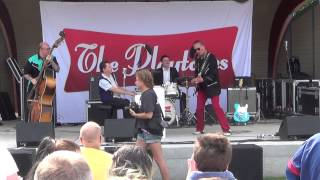 Chevy 55 - Milkshake mademoiselle - Together again - The Playtones i Tranås 8 augusti 2015