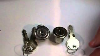 Briefkasten-Schloss R 22 gleichschielend Video 788