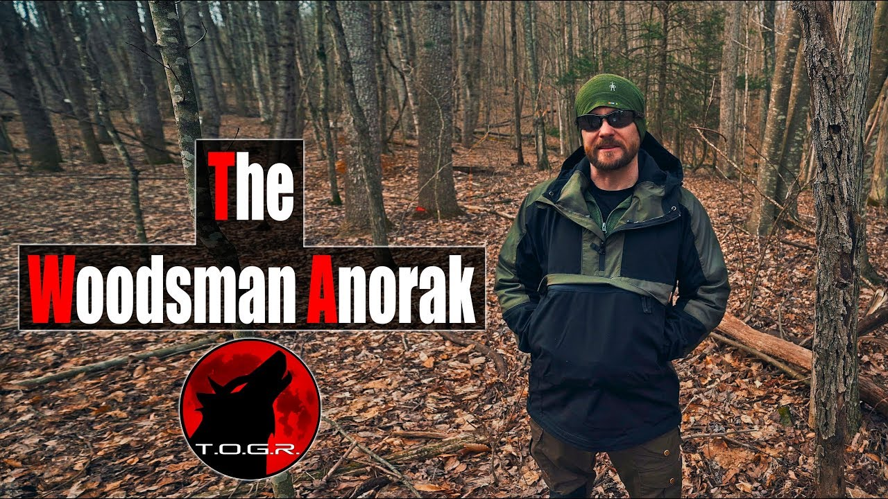 HELIKON-TEX WOODSMAN ANORAK Jacket Tactical Outdoor Survival Bushcraft