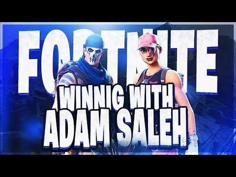 PLAYING DUOS WITH ADAM SALEH ! PRO FORTNITE PLAYER