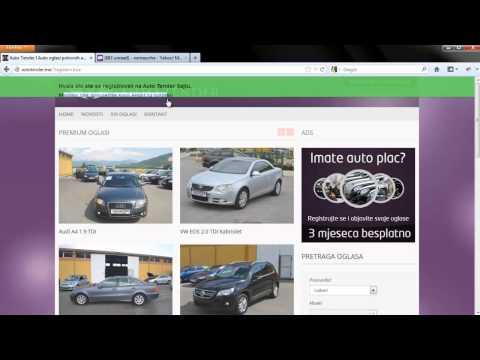 Auto Tender Registracija