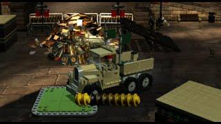 LEGO Indiana Jones 2 100% Walkthrough Part 34 - All Treasure Levels - The Last Crusade