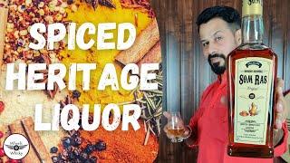 Somras Heritage Liquor Review in Hindi   Maharani Mahansar Somras Spiced Whisky   Somras Sharab  
