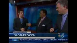 Elan Mosbacher & SpotHero on NBC Chicago's Weekend Web Segment