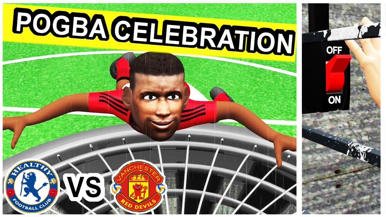 Pogba Goal And Celebration Chelsea Vs Manchester United 0 2 Parody