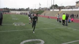 Jaquel Pitts WR CFL Tryout With The Winnipeg Blue Bombers 5/17/2015