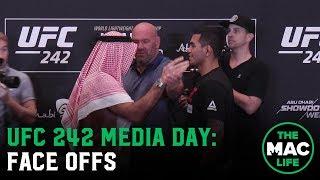 UFC 242 Media Day: Face Offs
