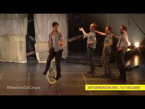 Machine de Cirque - SEP 21 - OCT 2, 2016, Boston