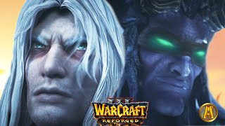 Arthas vs. Illidan Cinematic [IMPROVED] - Final Battle! [Warcraft 3: Frozen Throne]