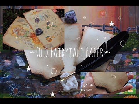 old fairytale paper diy *_*