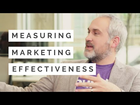 Measuring Marketing Effectiveness: How To Know What's Working