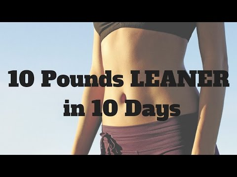 Flat abs fast | 10 Pounds LEANER in 10 Days