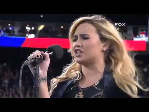 Demi Lovato - Sings The National Anthem 2012