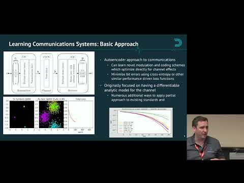 GRCon18 - Advances In Machine Learning For Sensing And Communications Systems