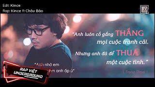 Lặng - Kince ft. Châu Bảo | RV Underground