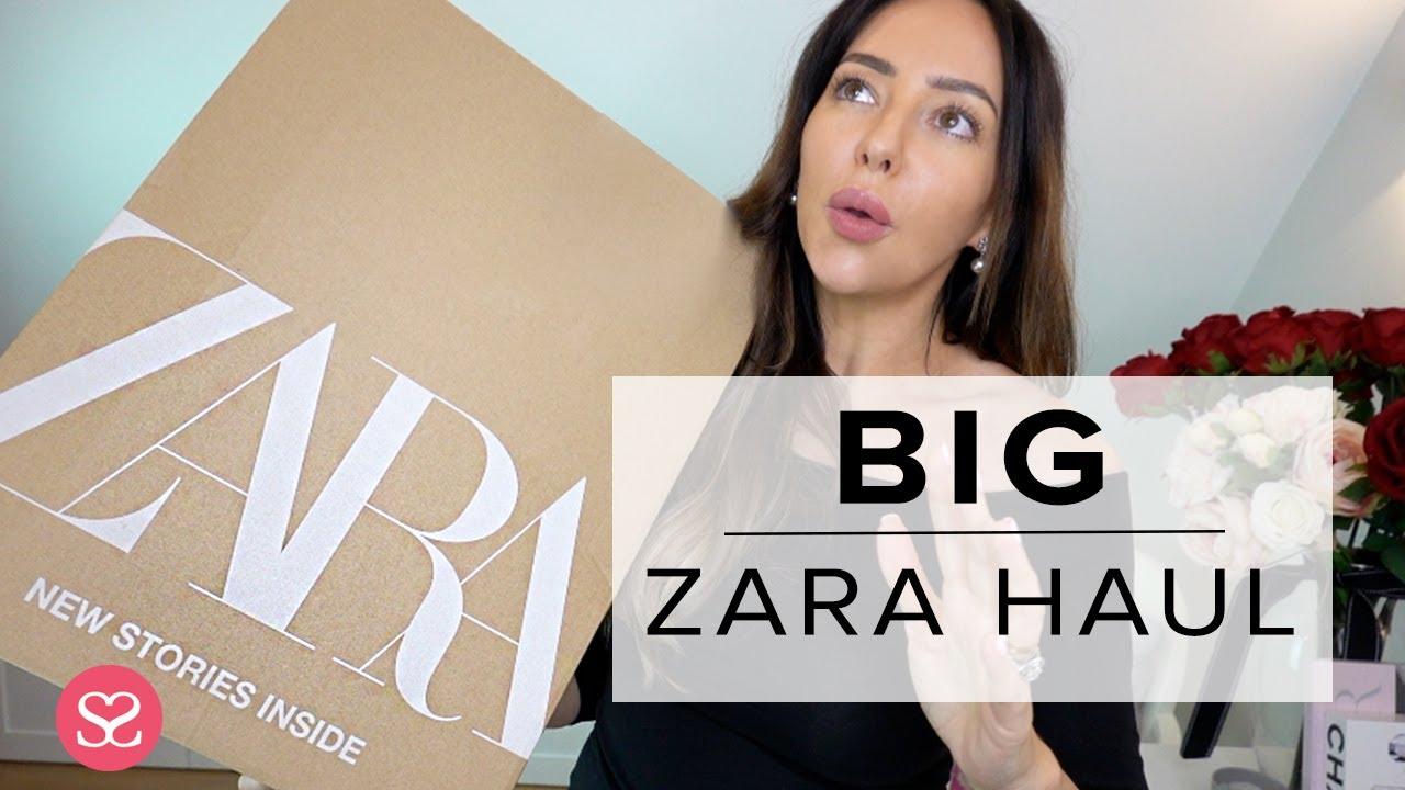 BIG ZARA HAUL - So Many Nice New Things for Spring 2019!! 3