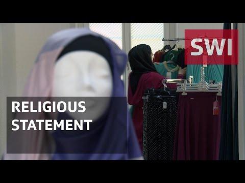 A clothes shop for Muslim women