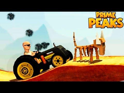 МАШИНКИ Prime Peaks #5 Трактор Прохождение игры про машинки как мультик VIDEO FOR KIDS cars games