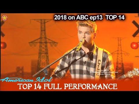 "Caleb Lee Hutchinson sings ""Midnight Train To Memphis"" GREAT & CONFIDENT American Idol 2018 Top 14"