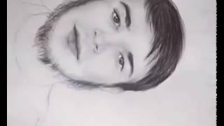 Чеченка художник сделала подарок друзьям Чечня