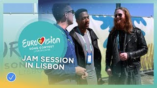 Jam session with Rasmussen (DK), Cesár Sampson (AT) & Ryan O'Shaughnessy (IE)