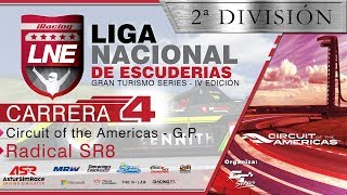 iRacing | GT Series | IV LNE | 2ª División | Carrera 4