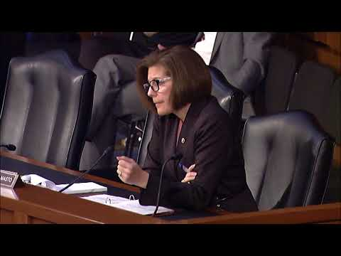 Senator Cortez Masto Questions Federal Reserve Chair Nominee, Jerome H. Powell