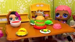 Ляльки ЛОЛ ЛОЛ Surprise ГОСТІ Сюрприз-Іграшки мультик з Вероничка Лалалупсі