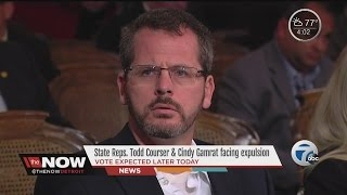 Michigan House holding session to vote on expulsion for Reps. Gamrat, Courser