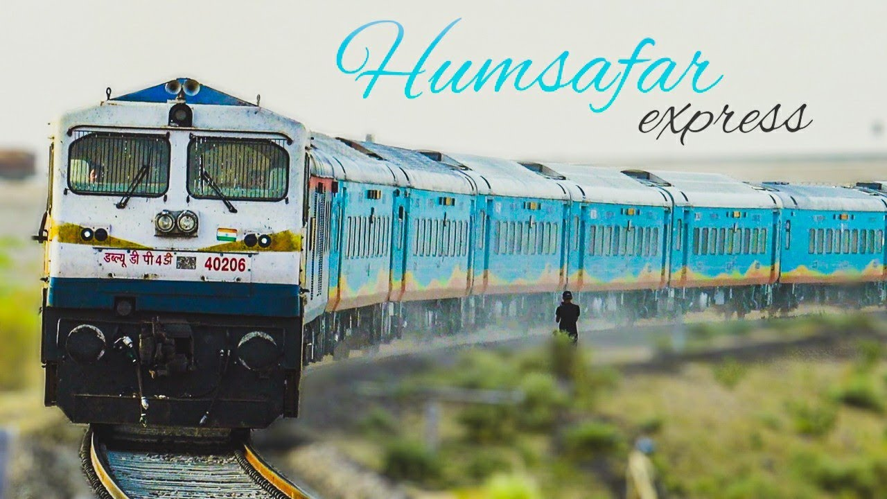 Beautiful Humsafar Express back on tracks after 15 Months | First Humsafar of Rajasthan 🔥