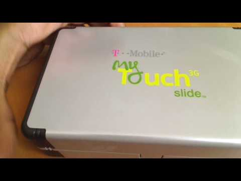 My Touch 3g Slide unboxing