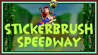 Stickerbrush Speedway (Diddy Kong Racing Style)