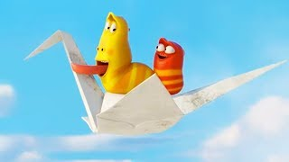 LARVA - PAPER PLANE | Cartoon Movie | Cartoons For Children | Larva Cartoon | LARVA Official