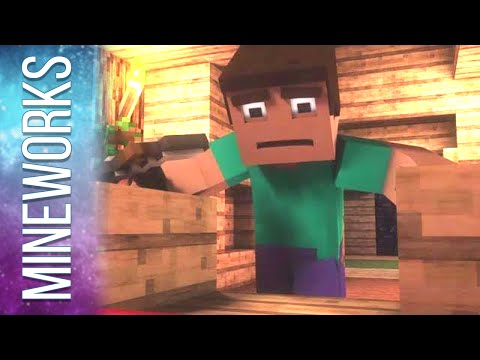 "Minecraft Song Parody ""Where My Diamonds Hide"" - Imagine Dragons Demons"