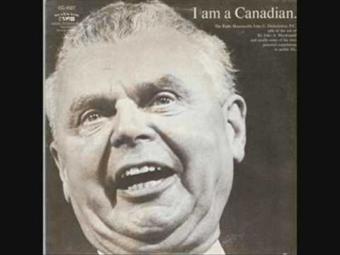 "John Diefenbaker - ""I am a Canadian"" LP - Side 1"