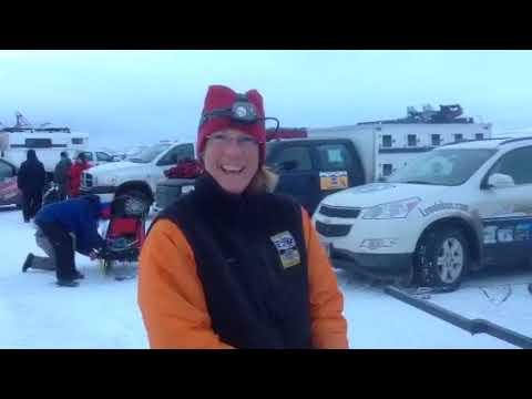 Linda pre race - Kemmerer