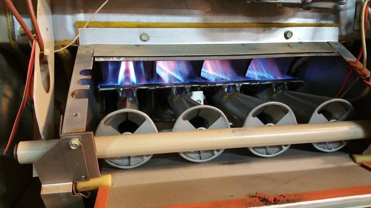 Troubleshooting Lennox Whisper Heat G20 Furnace Pilot And Flame Sensor Youtube