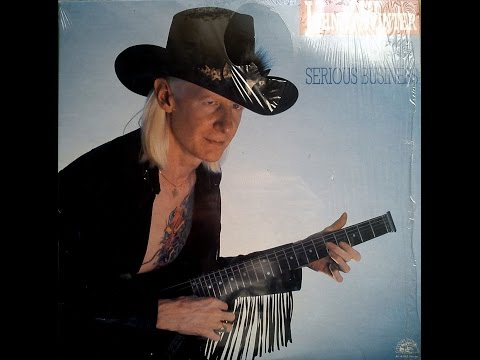 JOHNNY WINTER - SERIOUS BUSINESS (FULL VINYL)