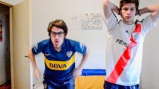 River 0 Boca 1 | Torneo Argentino 2015 | Reacciones de amigos