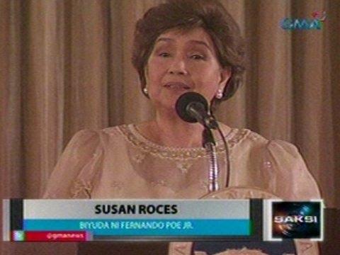 Saksi: Susan Roces, emosyonal na tinanggap ang Nat'l Artist Award para kay FPJ